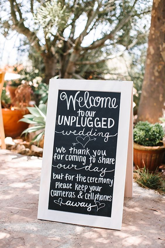 unplugged wedding, offline wedding, offline bruiloft