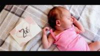 Newbornfilm, newbornvideo, babyfilm